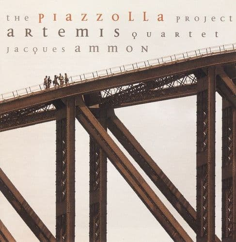 Artemis Quartett, Jacques Ammon<br>The Piazzolla Project<br>CD